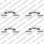 Zestaw montażowy klocka hamulcowego DELPHI LX0430