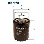 Filtr oleju FILTRON OP 578