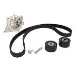 Zestaw paska rozrządu + pompa wody HEPU PK08011