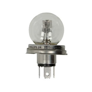 Glühlampe PHILIPS R2 (24V 55/50W)