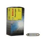 Żarówka (pomocnicza) C10W BOSCH Pure Light - karton 10 szt., rurkowa
