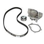 Rozrząd komplet (pasek + rolka + pompa wody) HEPU PK08710