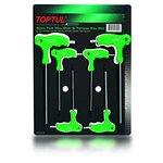 Zestaw kluczy trzpieniowych Torx TOPTUL 6 sztuk