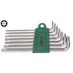 Stiftschlüsselsatz TORX TAMPER HANS 7 Stück (T10 - T40)