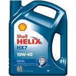 Olej SHELL Helix HX7 10W40, 4 litry