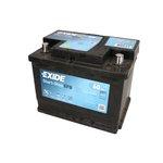 Akumulator EXIDE MICRO-HYBRID ECM EL600 - 60Ah 640A P+