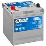Akumulator EXIDE EXCELL 50Ah 360A L+