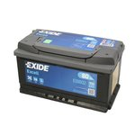 Akumulator EXIDE EXCELL EB802 - 80Ah 700A P+