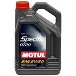 Olej MOTUL Specific 0720 5W30, 5 litrów