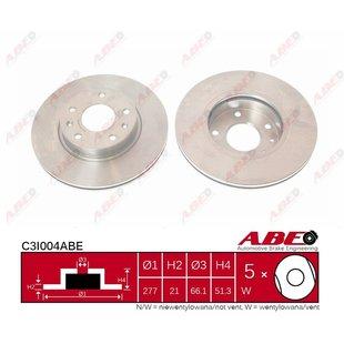Bremsscheibe ABE C3I004ABE, 1 Stück
