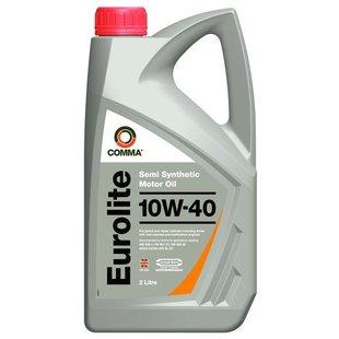 Olej silnikowy półsyntetyczny COMMA EUL2L