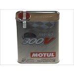 Olej syntetyczny MOTUL 300V Power 5W40, 2 litry