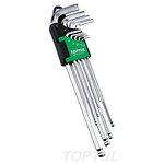 Zestaw kluczy ampulowych TOPTUL 8 sztuk
