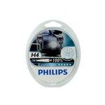 Żarówka (halogenowa) H4 PHILIPS X-tremeVision 130% - set 2 szt.