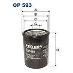 Filtr oleju FILTRON OP 593