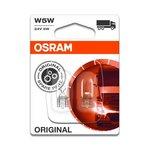 Żarówka (pomocnicza) W5W OSRAM Standard - blister 2 szt., całoszklana