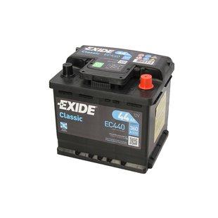 Akumulator EXIDE CLASSIC 44Ah 360A P+