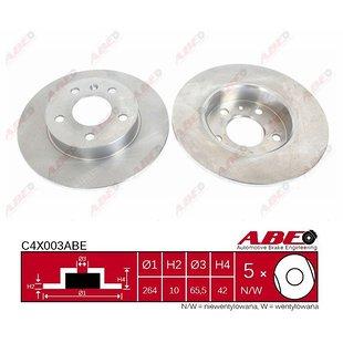 Bremsscheibe ABE C4X003ABE, 1 Stück