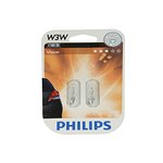 Żarówka (pomocnicza) W3W PHILIPS - blister 2 szt.