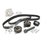 Rozrząd komplet (pasek + rolka + pompa wody) HEPU PK06160
