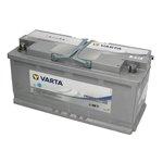 Akumulator VARTA DUAL PURPOSE AGM - 105Ah 950A P+