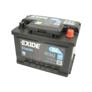 Akumulator EXIDE CLASSIC 54Ah 500A P+