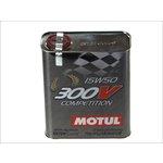 Olej syntetyczny MOTUL 300V Competition 15W50, 2 litry