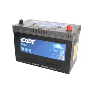 Akumulator EXIDE EXCELL 95Ah 720A P+