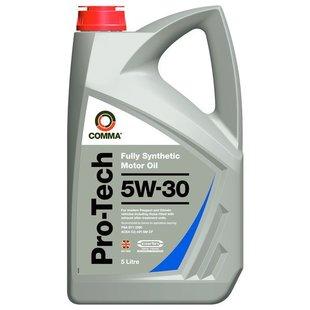 Olej silnikowy syntetyczny COMMA PRO-TECH 5W30, 5 litrów