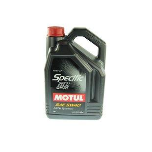 Olej MOTUL Specific 5W40, 5 litrów