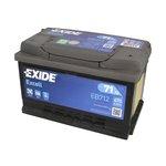 Akumulator EXIDE EXCELL 71Ah 670A P+